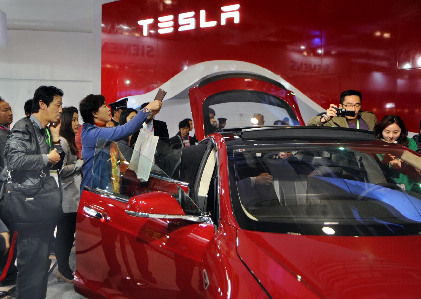 Teslas Absatz in China bricht ein