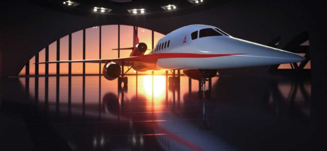 Aerion Supersonic plant CO2-neutrales Überschallflugzeug