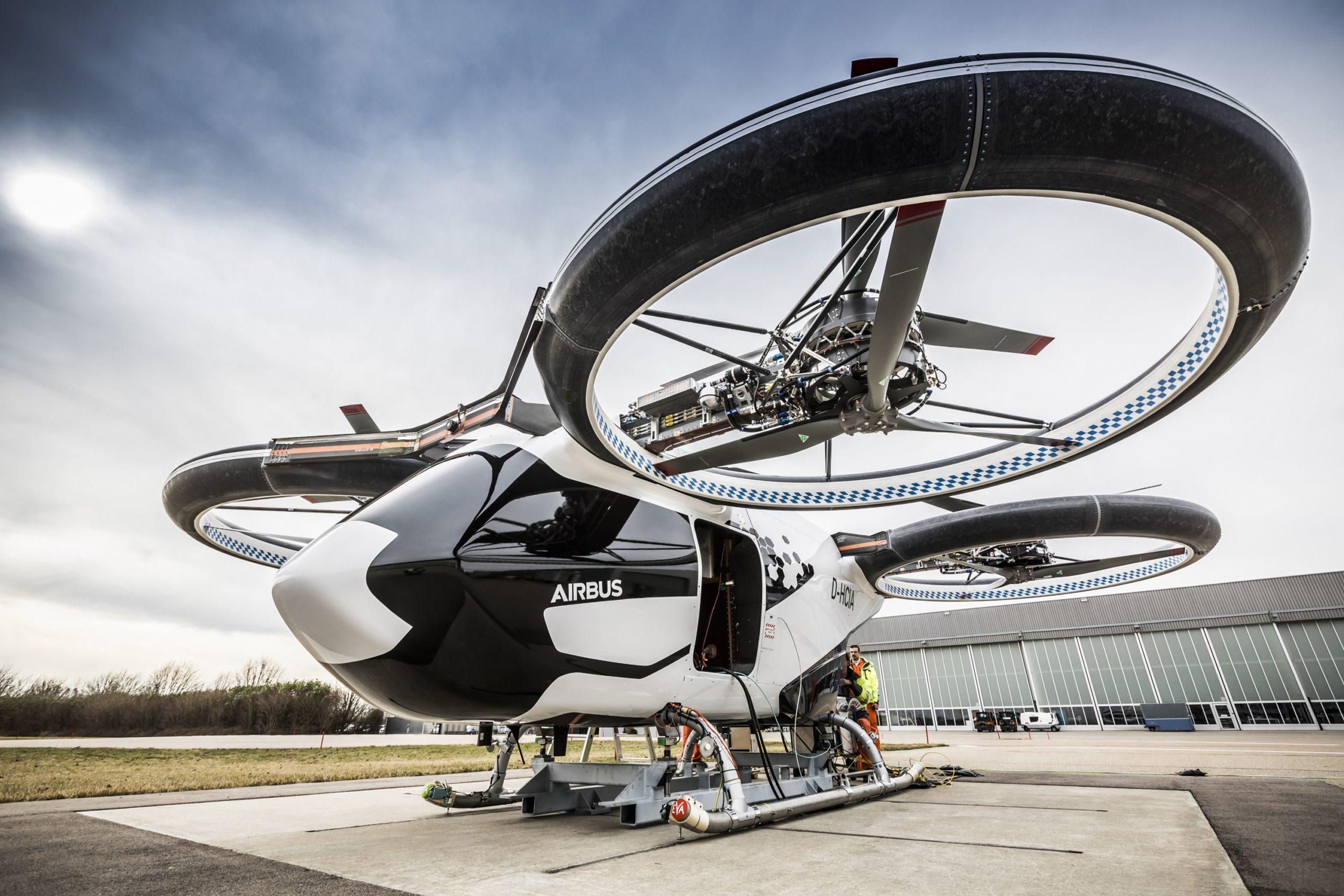 Lufttaxi: CityAirbus wird ab August in Bayern getestet