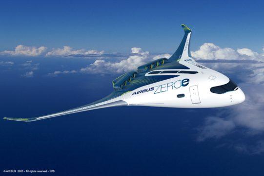 Airbus: 2035 soll marktreifes Wasserstoffflugzeug kommen
