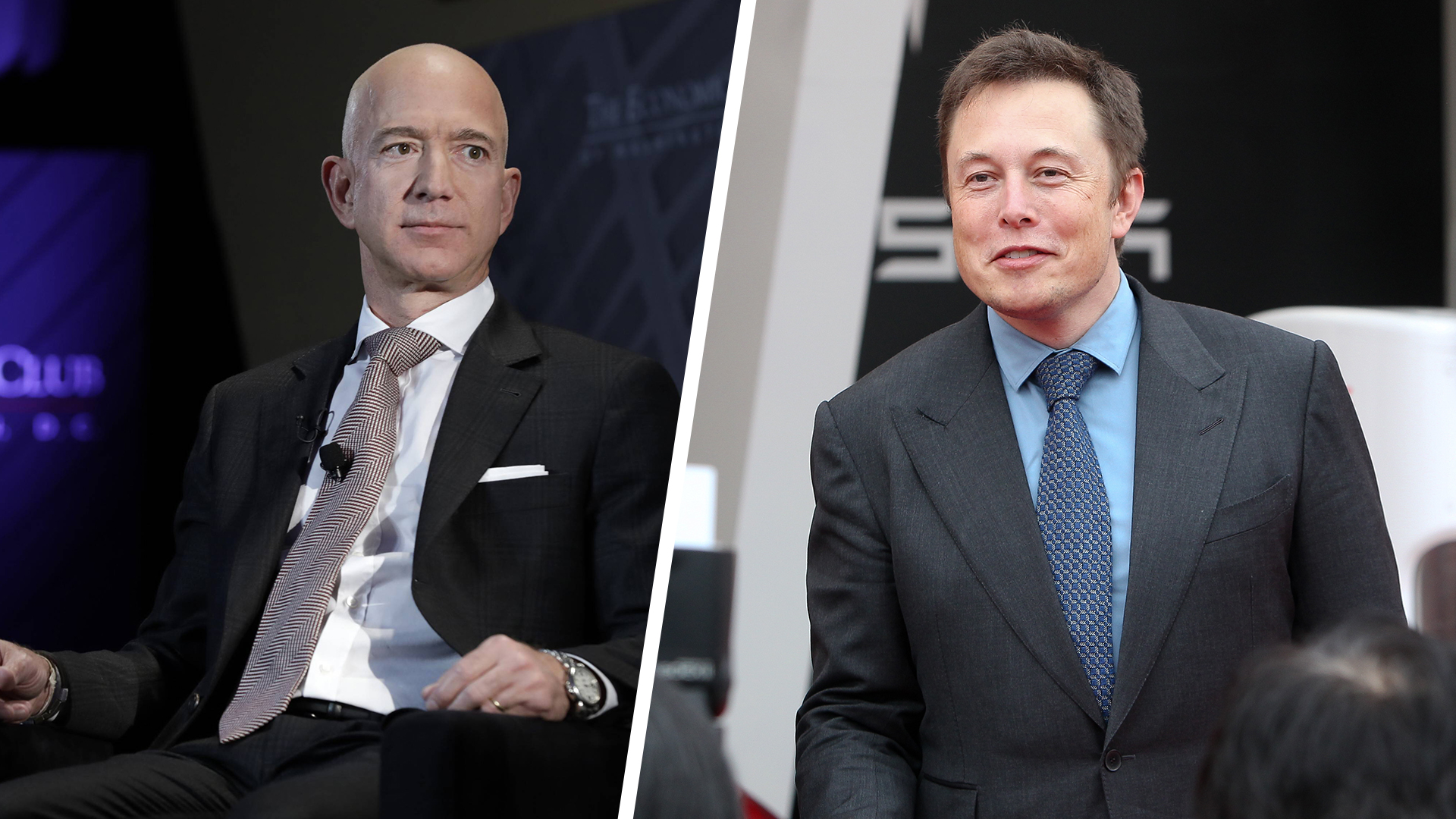 Elon Musk und Jeff Bezos streiten über Satelliten-Umlaufbahnen