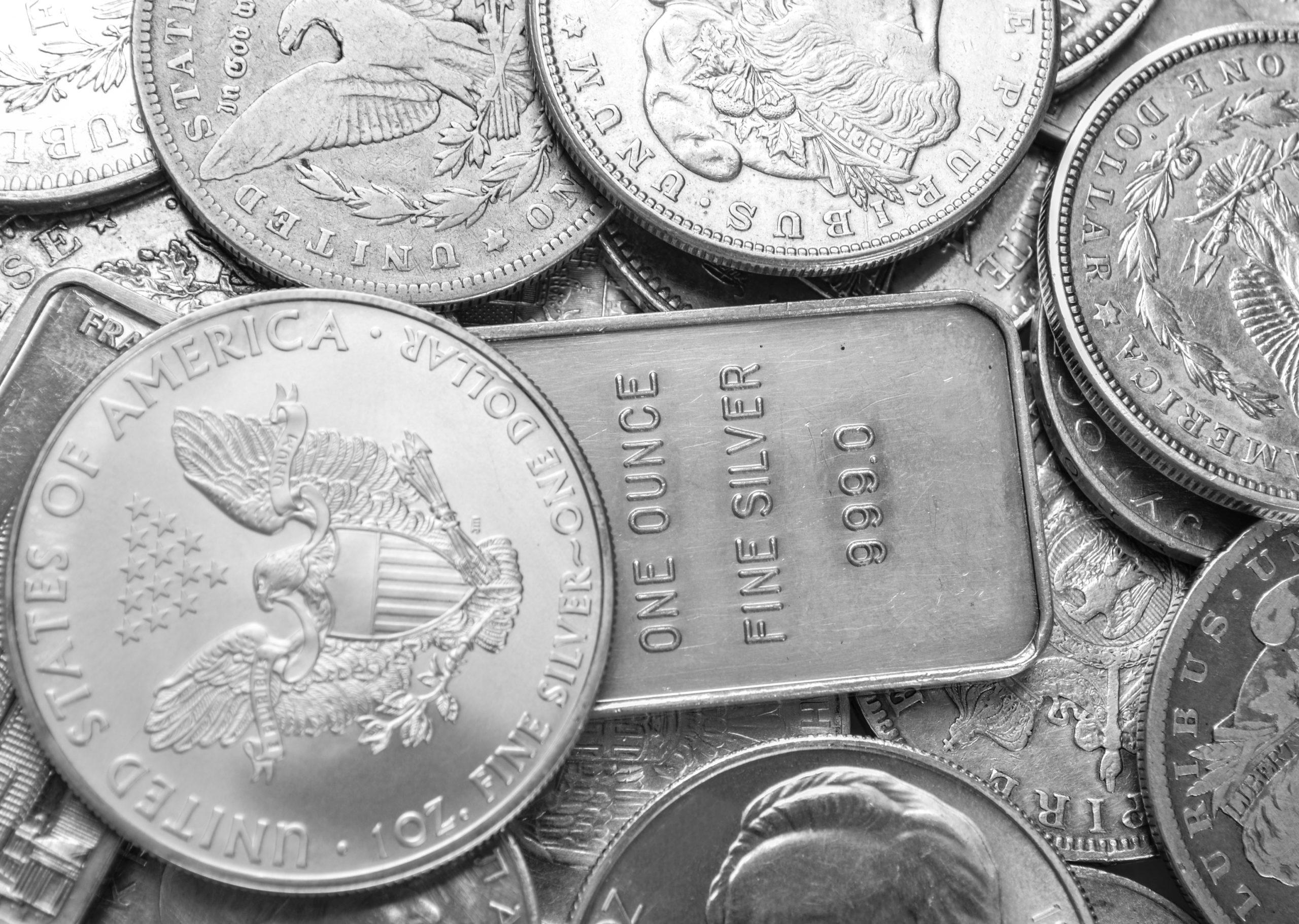 Silberpreise steigen und erreichen Achtjahreshoch