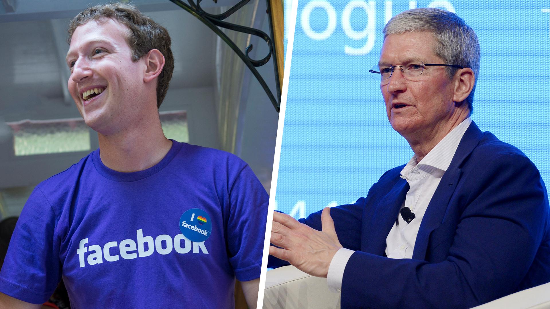 Apple-Chef Tim Cook legt sich mit Facebook und Google an
