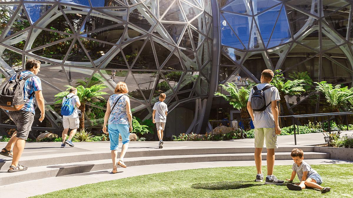 Amazon Headquarters in Seattle