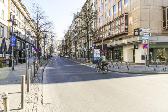 Frankfurt im Lockdown