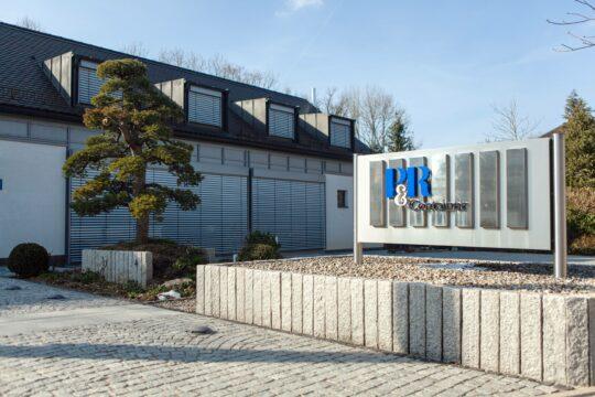 Firmenzentrale der P&R Container Agentur